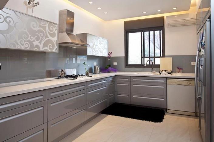 עיצוב מטבח בצבע בהיר